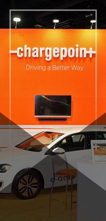 Trade Show Display - Chargepoint