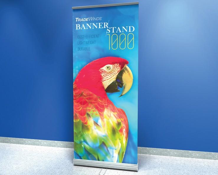 TRADEWINDS® BANNER STAND