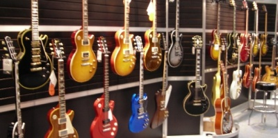Guitar Wall Display