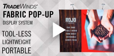Fabric Pop-Up Display