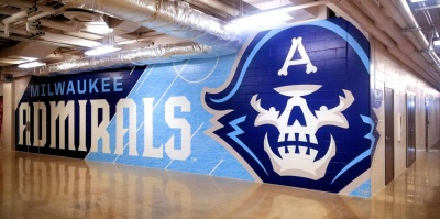Milwaukee Admirals wall
